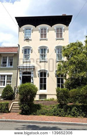 Victorian Architecture In Historic Washington