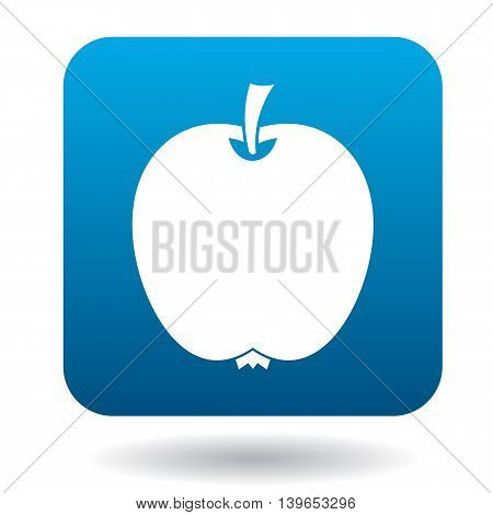 Apple icon in flat style on a white background