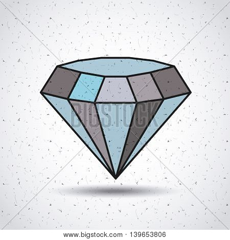 diamond isolated icon design, vector illustration  graphic