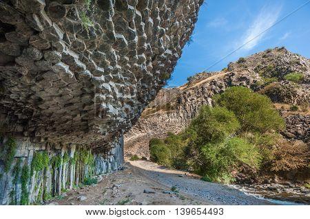 Symphony Of Stones Basalt Columns, Garni Gorge, Armenia
