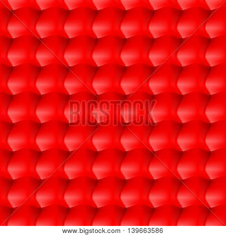 Seamless abstract background. Surround relief in the red colour