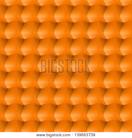 Seamless abstract background. Surround relief in the orange colour