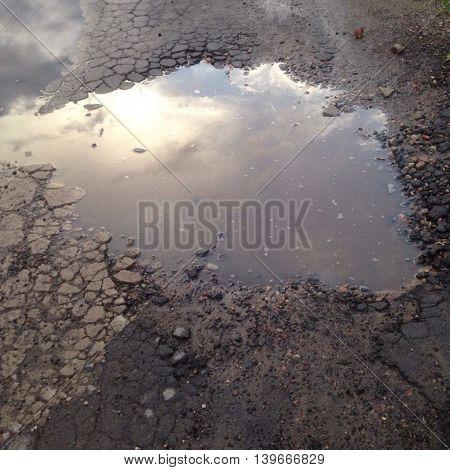 bad asphalt , crack, break, repair, asphalt, hole, pothole