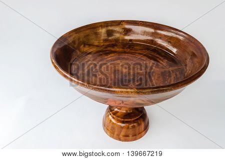 Tray With Pedestal