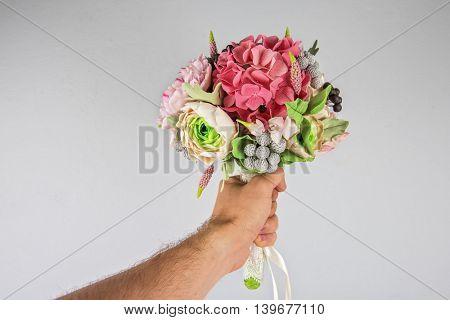 wedding flower composition