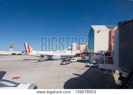 Airport Departure Tarmac