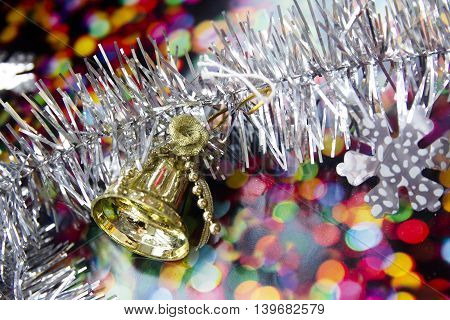 bright, colorful Christmas cards with glitter and balls