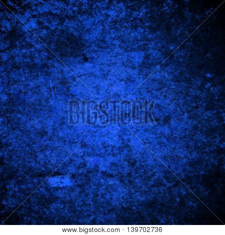 abstract colored scratched grunge background - blue and black