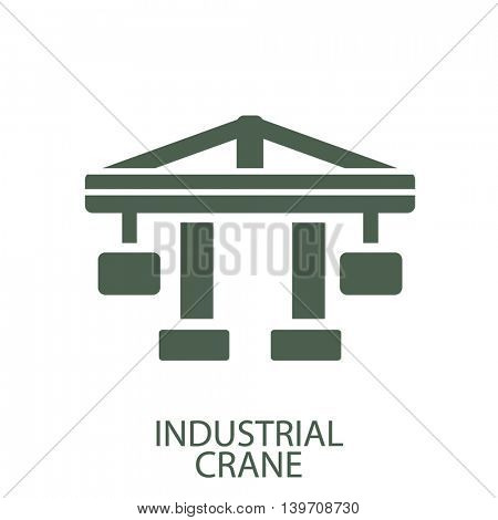 industial crane icon