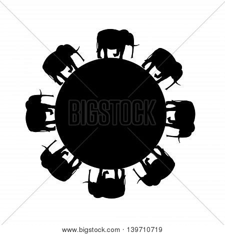 funny original creative vector illustration for web design and Polygraphy