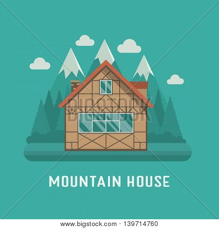 Mountain Chalet House