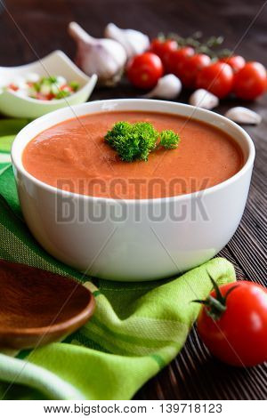 Vegetable Soup Gazpacho