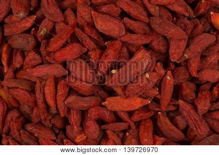 Goji Berries Close Up