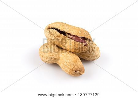 Pile Of Peanuts Close Up