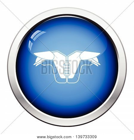 American Football Chest Protection Icon