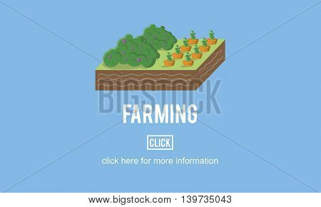 Farming Agriculture Cultivation Environment Concept