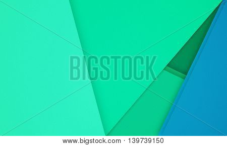 Modern creative horisontal colorful material design background