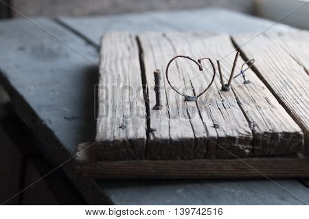 Word love - Valentines day, Mothers day, wedding, love and romantic events