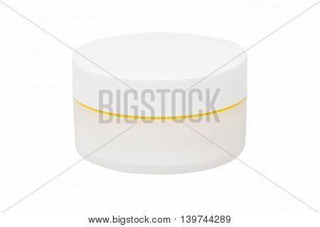 White Cream Can