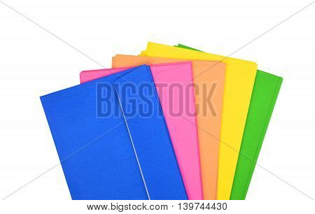 Set Of Color Envelope