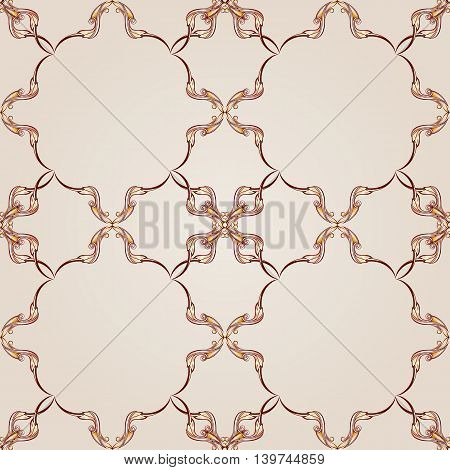 Symmetrical patterned squares on the light background.