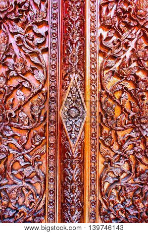 carved flowers Liana carved doors and windows