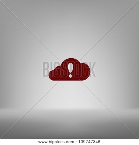 Illustration Of An Isolated Cloud
