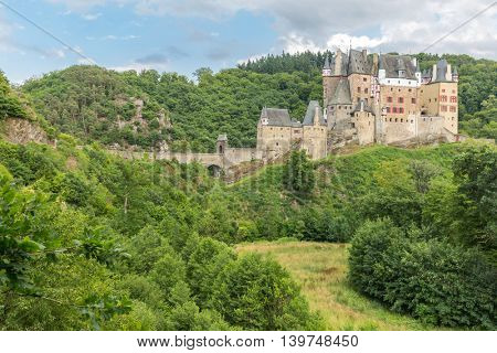 View of the Burg Eltz Castle Germany