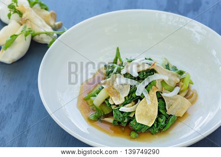 Watercress Bok Choy Salad