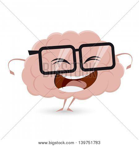 funny brain clipart