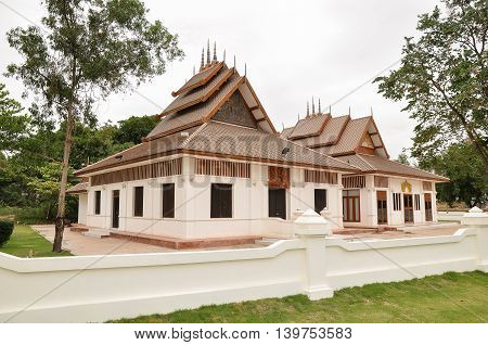 Thai temple in the northern part style