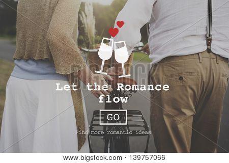 Love Quotes Romance Valentines Website Concept