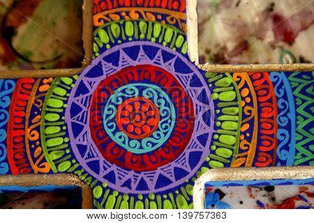 artesania , pintada a mano  alebrijes oaxaca