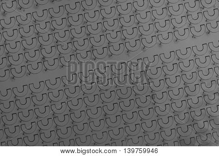 abstract of U shape symbol texture for background used