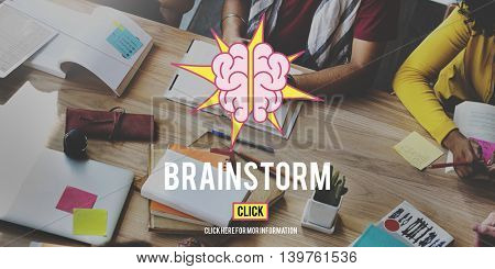 Brainstorming Knowledge Thinking Learning Creativity Concept