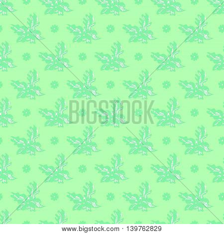 Abstract gentle seamless green background for a Web Site