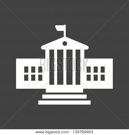 Presidential, building, architecture icon vector image. Can also be used for elections. Suitable for mobile apps, web apps and print media.