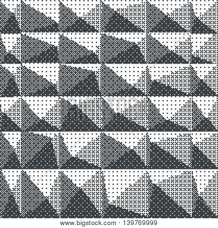 Grunge halftone dots vector texture background. EPS 10
