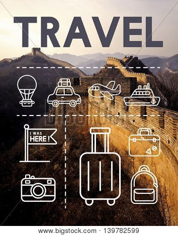 Travel Holiday Journey Exploration Graphic Concept