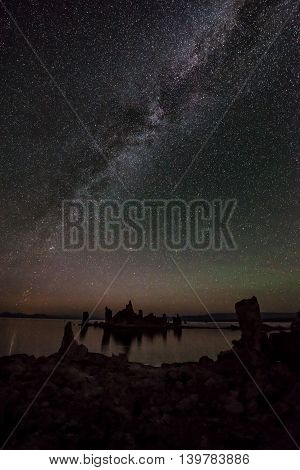 Mono Lake At Night Milky Way California Landscapes