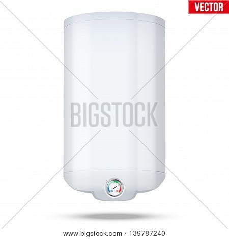 Water heater Boiler. Editable Vector Illustration isolated on white background.