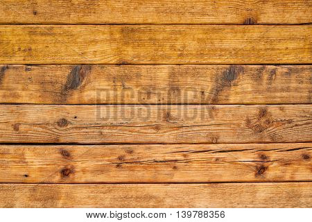 Wooden planks as background textured surface of rustic wood boards