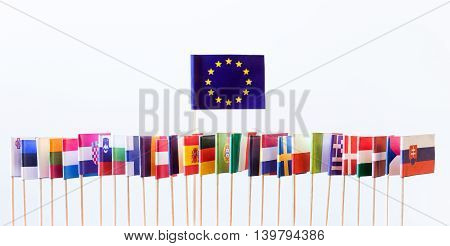 Flags Of The European Union Members