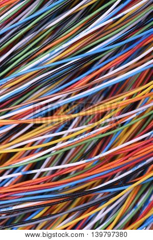 Cables and wires of telecomunication and computer systems
