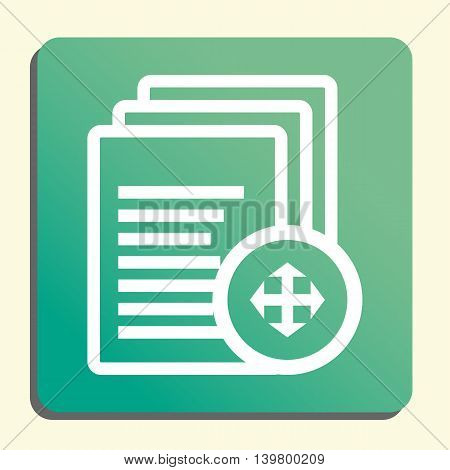 Files Arrows Icon In Vector Format. Premium Quality Files Arrows Symbol. Web Graphic Files Arrows Si
