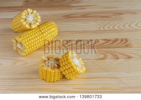 Fresh Sweet Corn On Cobs
