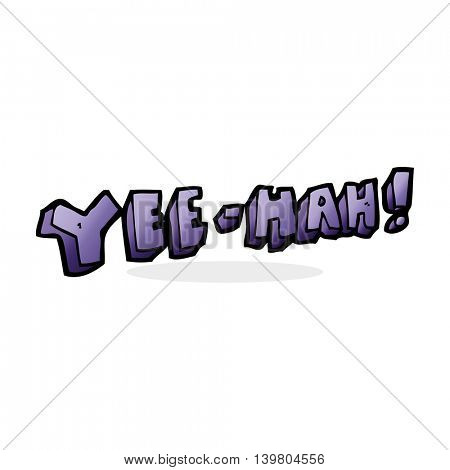 cartoon yeehah symbol