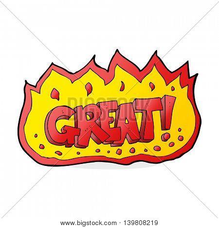 cartoon great symbol