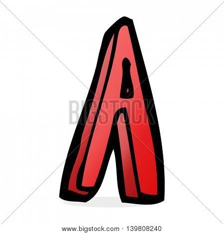 cartoon letter