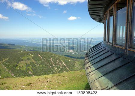 View from Sniezka of Mountain, Karkonosze, Poland